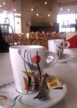 Au retour, un café à la station du Domaine...